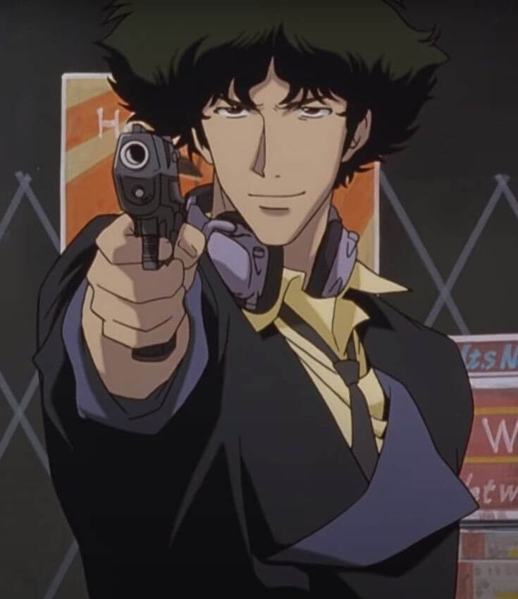 Cowboy Bebop anime from 1990